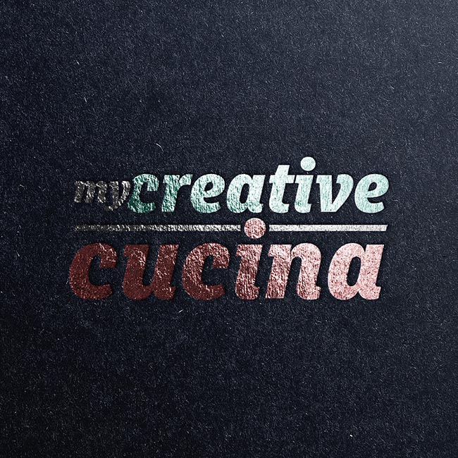 My Creative Cucina branding