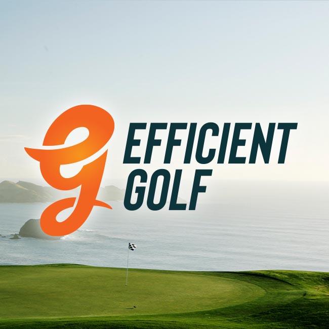 Efficient Golf branding