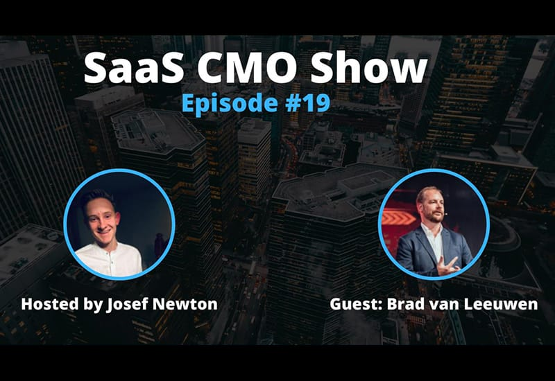 Cledara joins the SaaS CMO Podcast