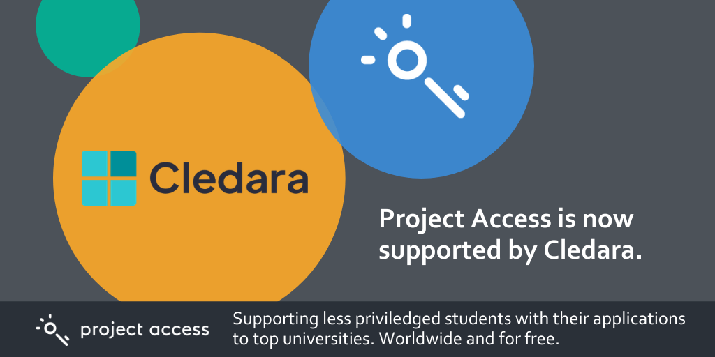 Cledara Joins Microsoft, Transferwise And WeWork To Improve Access To Education By Partnering With Project Access