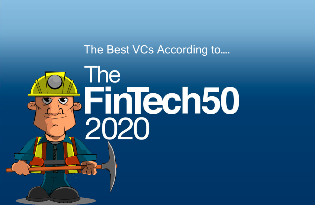 The Best Fintech VCs According to the FinTech50 2020