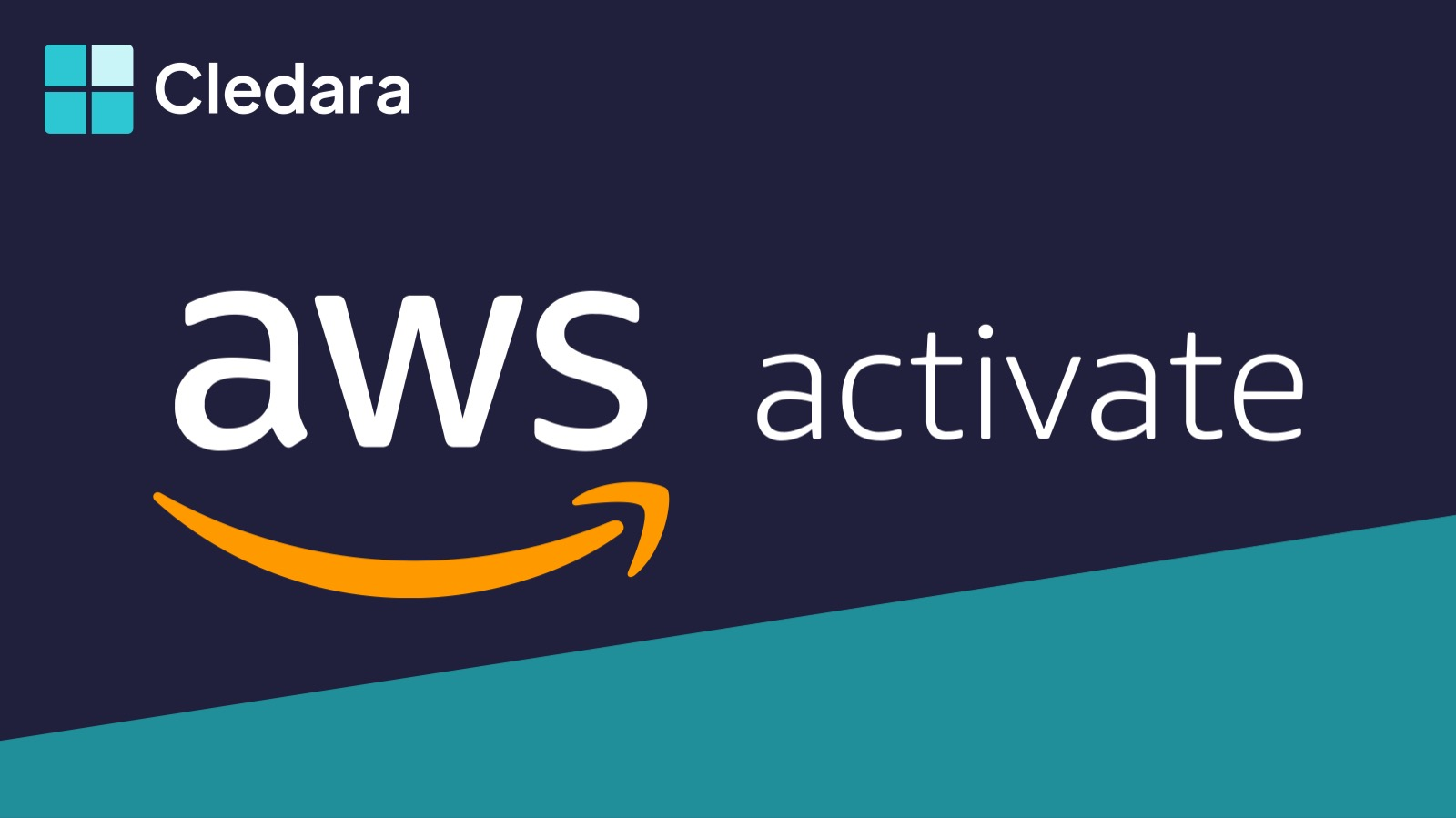 Cledara Now Available in the AWS Activate Console