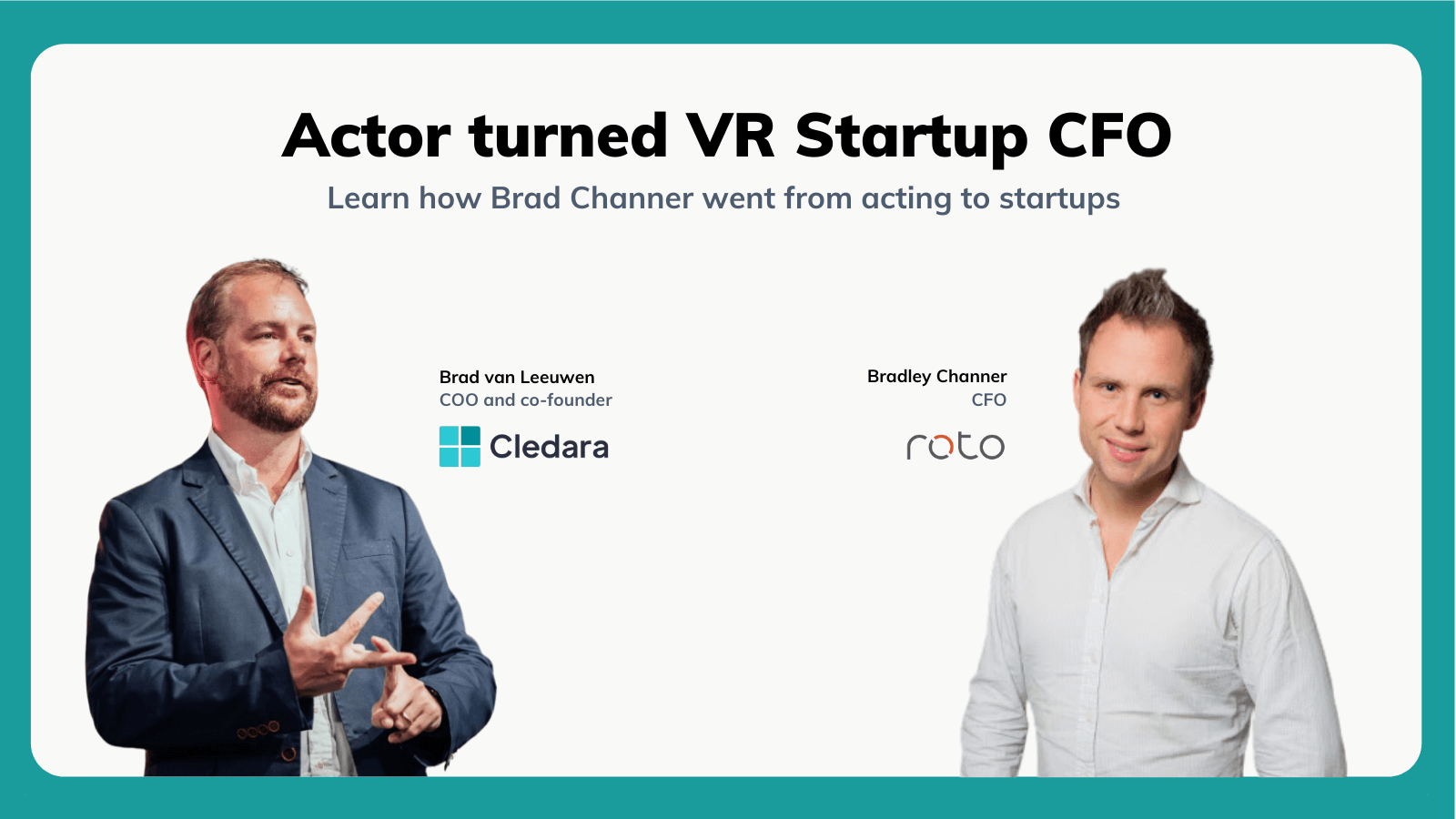 Meet the Actor That Pivoted Into CFO of a Hot VR Startup