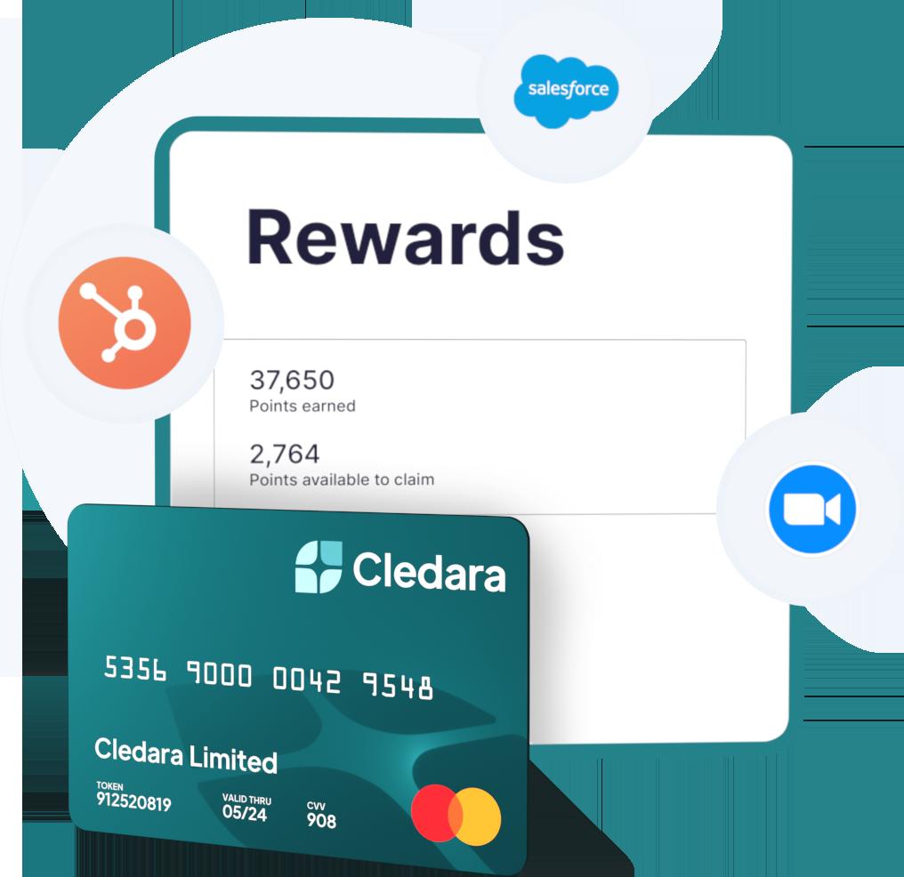 A Rewards UI and a Cledara Card