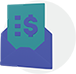 Icon invoice by email