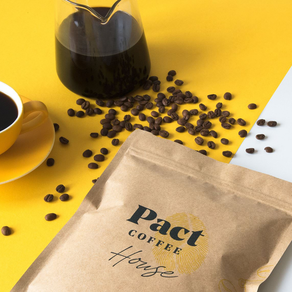 30% off 1st, 3rd and 5th orders when signing up for a Pact Coffee Plan.