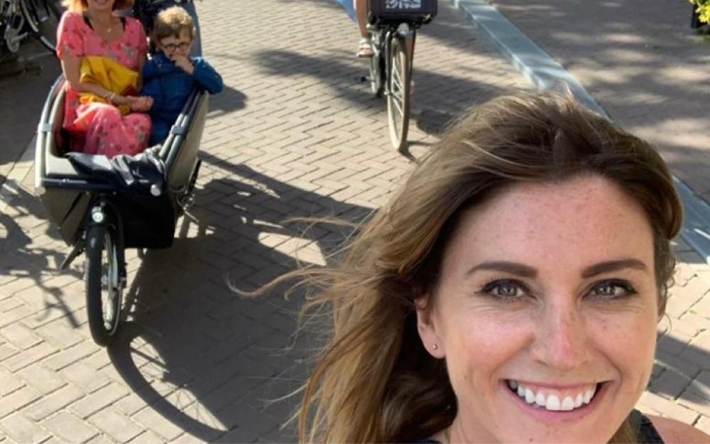 Living the cargo-bike life by Orla Chennaoui