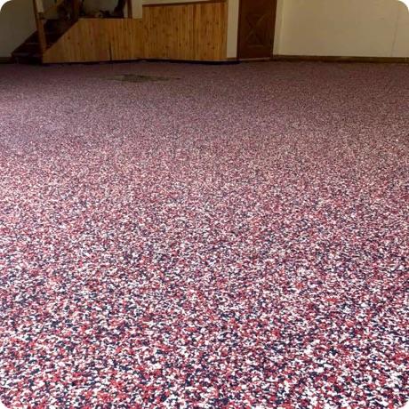 red flake floor coating