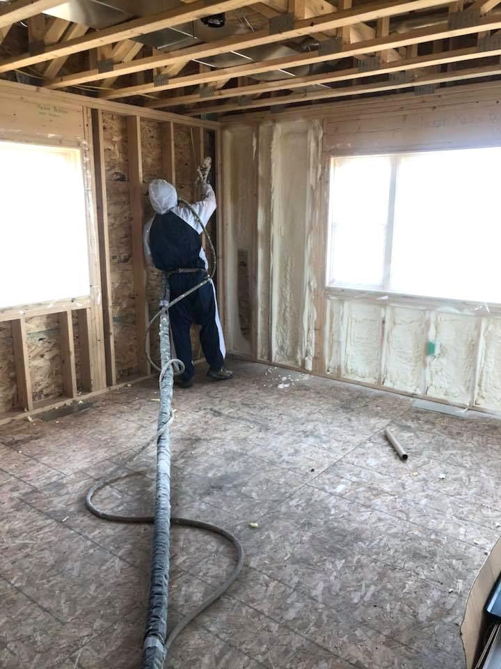 spray foam installer