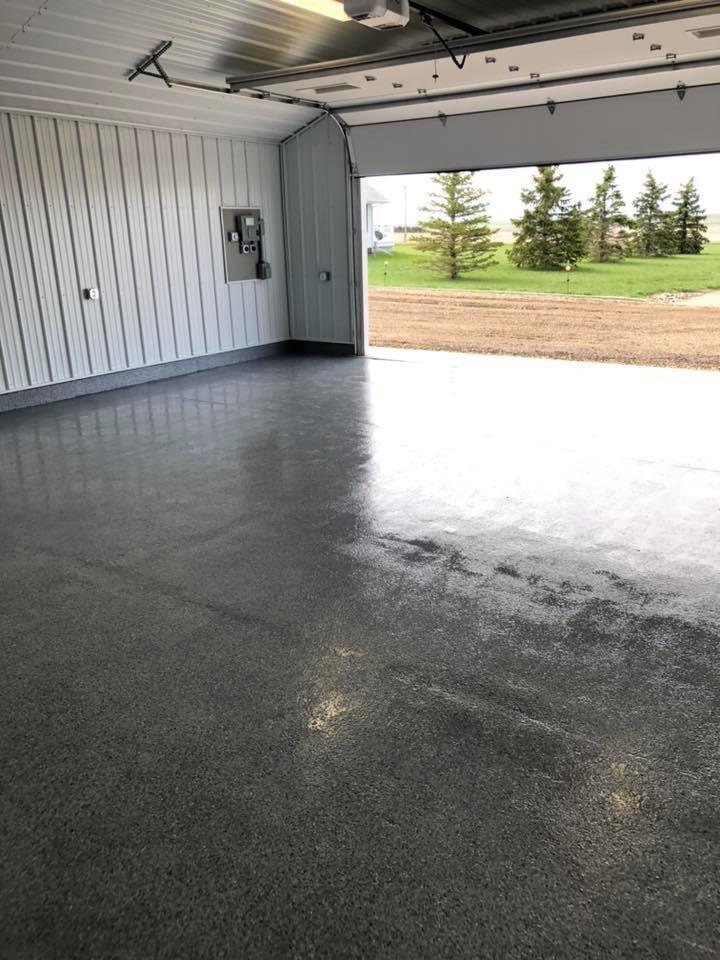 shop floor coating