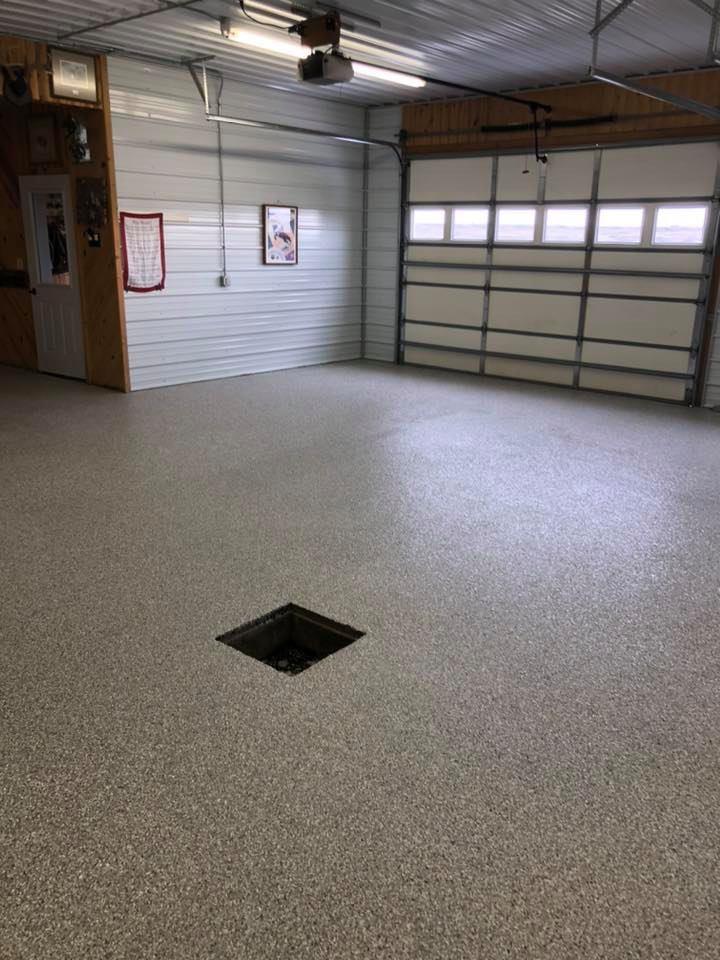shop flake floor