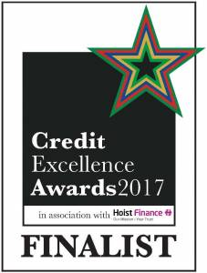 Finalist of the Credit Excellence Awards 2017