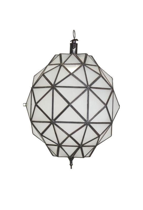 Moroccan Diamond Ceiling Lamp, 68 Cm