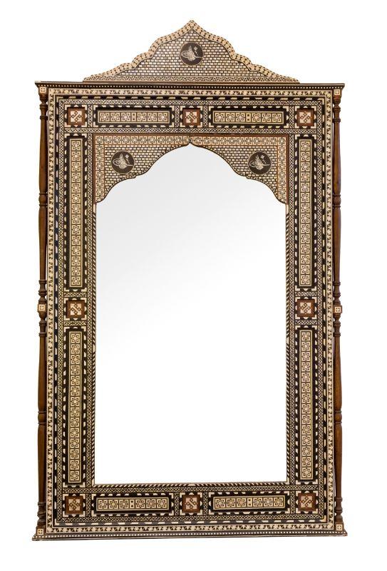 Espejo Marroqui taracea