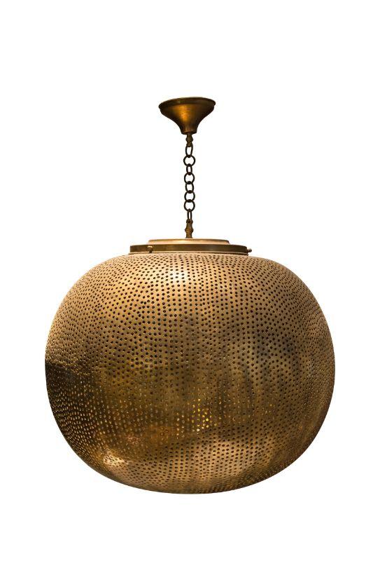 Lámpara de colgar tradicional marroqui