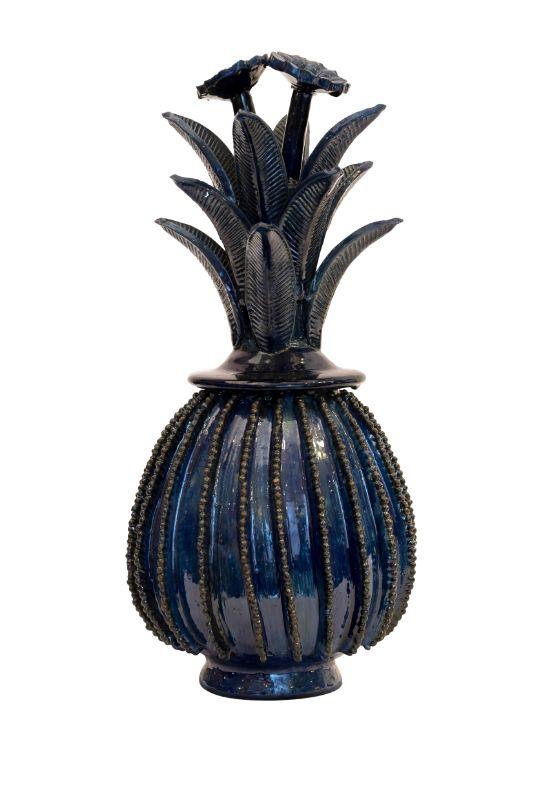 Piña ornamental Michoacan azul,38 Cms
