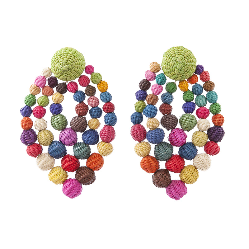 Earring Rombo # 1 Multicolor