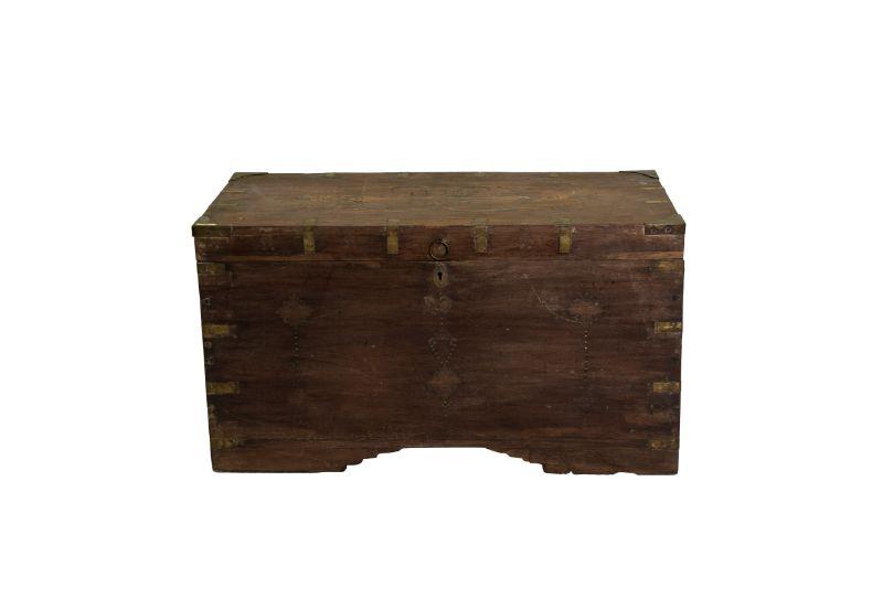 Caja de efectivo artesanal de madera