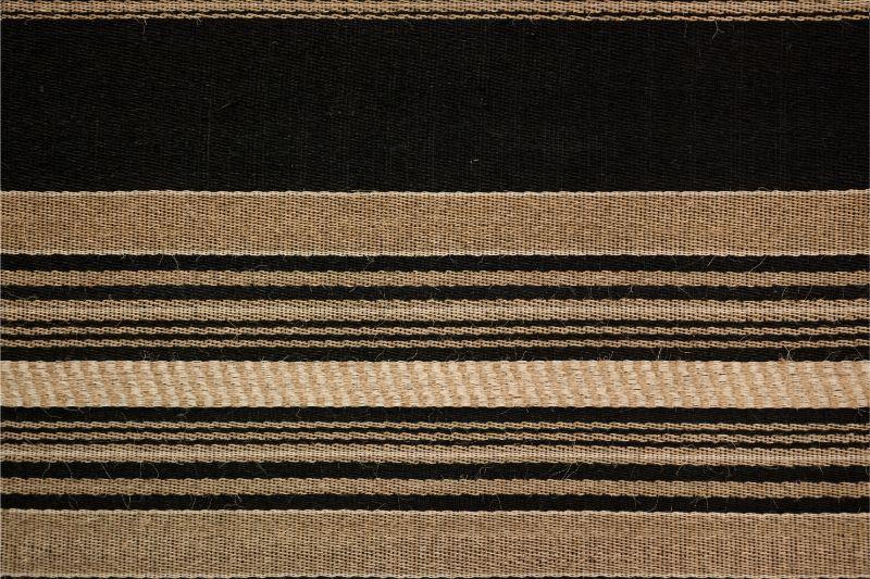 Rectangular mat Hechizoo, natural-blue