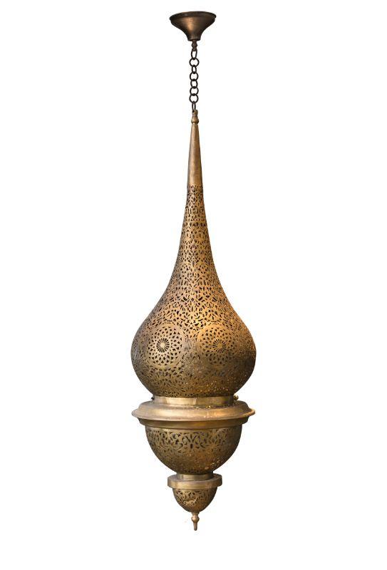 Lámpara de colgar tradicional marroqui, 100 Cms