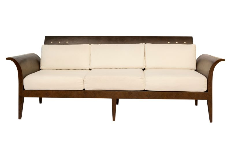 Couch in coconut fiber
