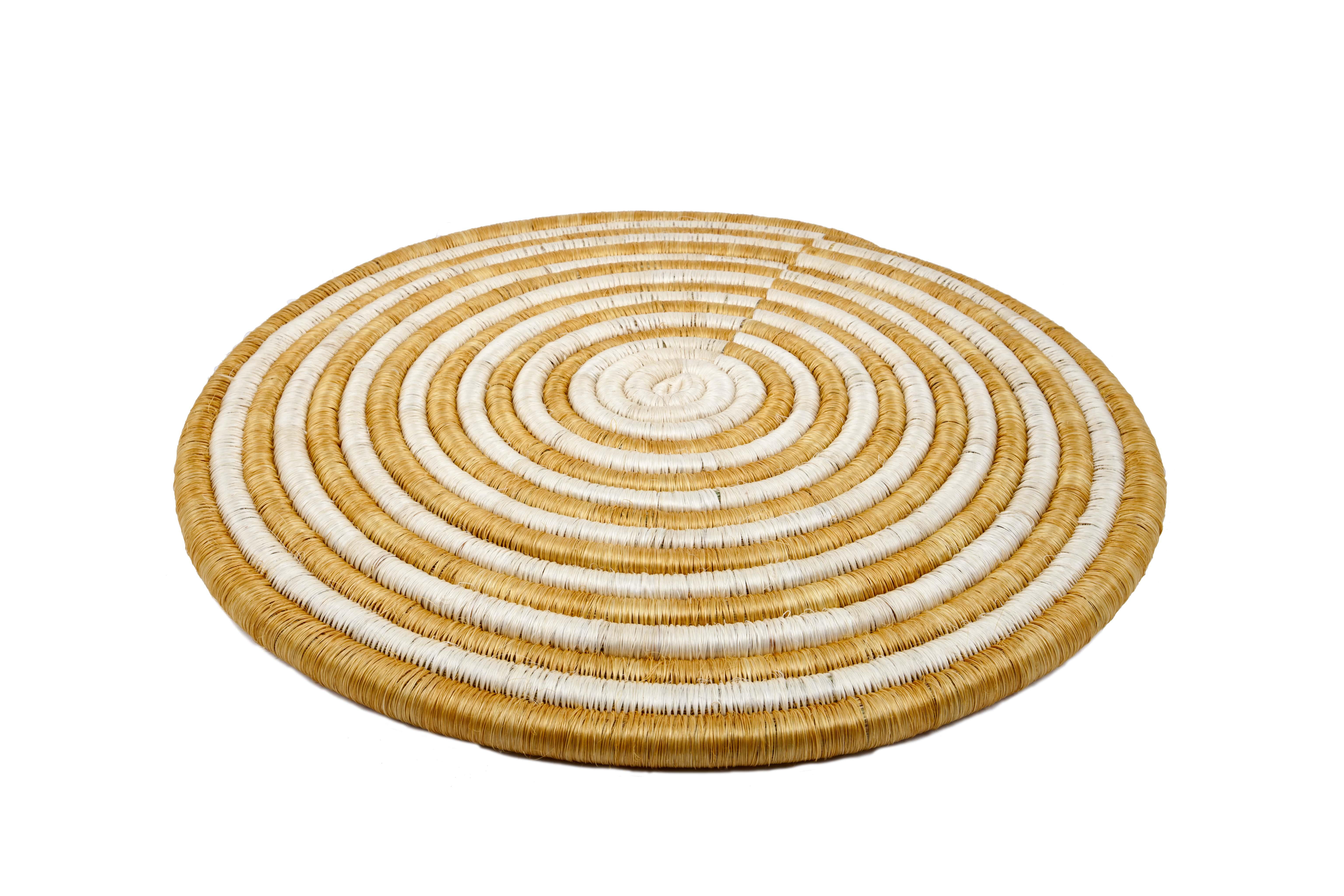 Guacamaya placemat set, gold