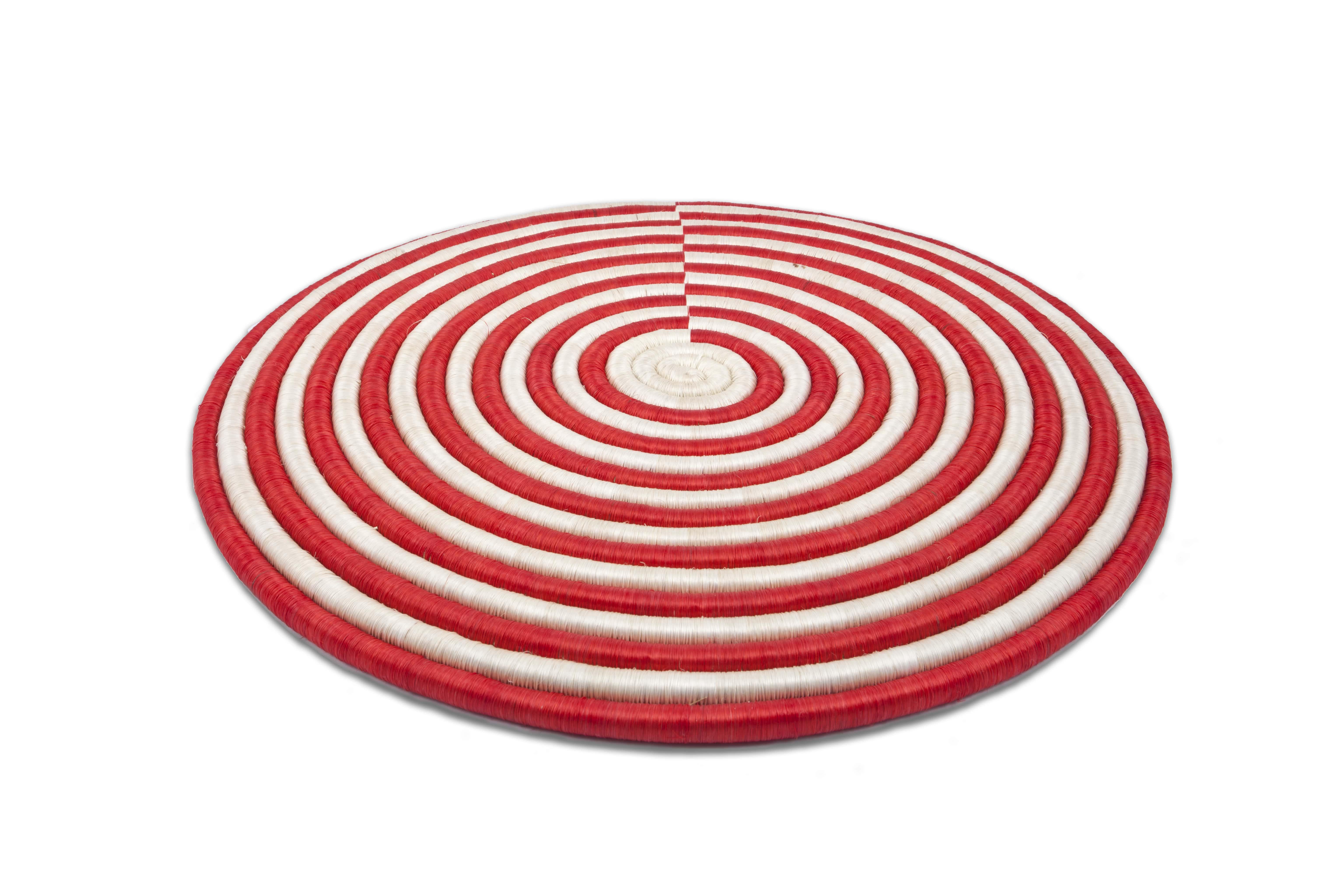 Juego de individuales Guacamayas,rojo
