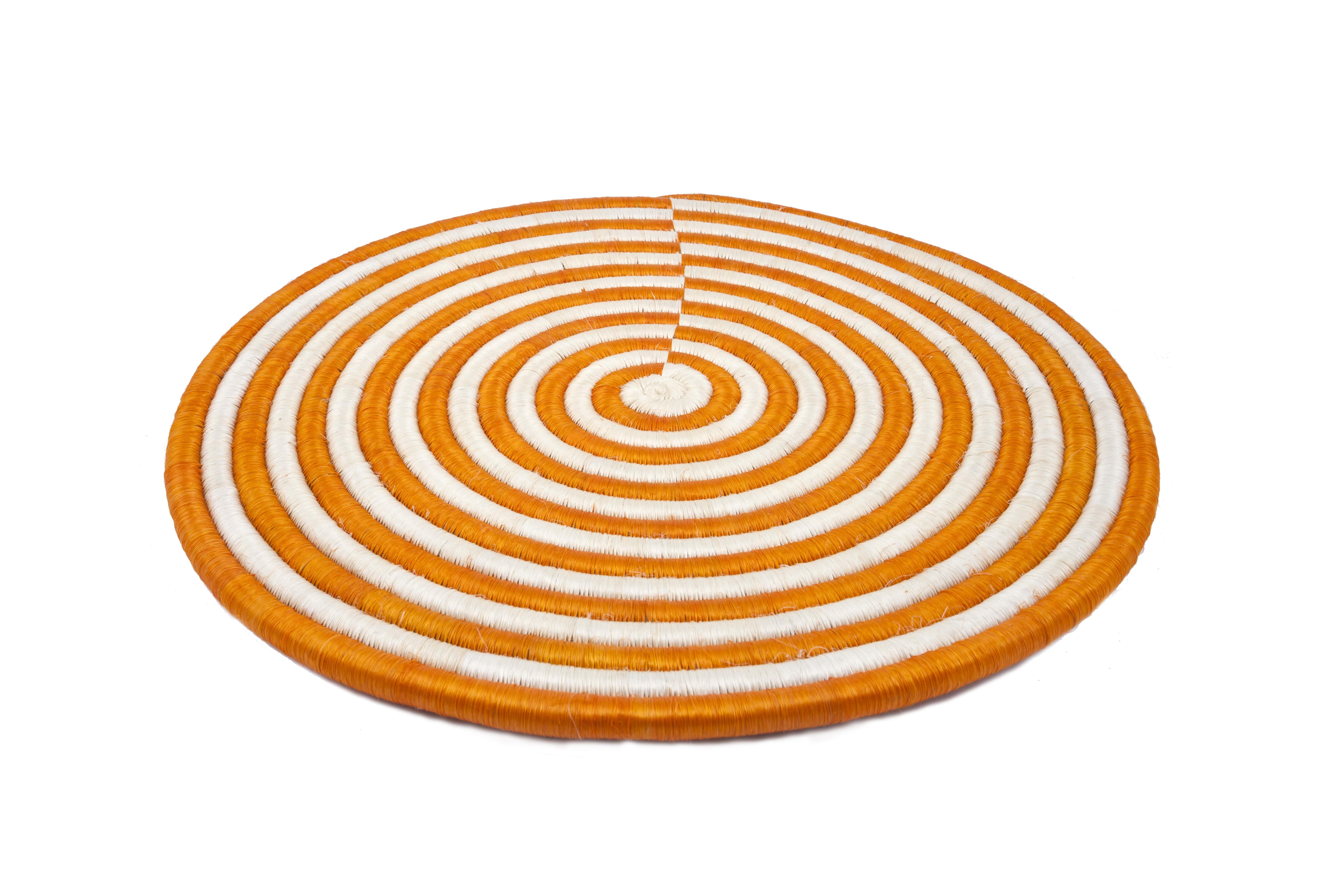 Juego de individuales Guacamayas, naranja