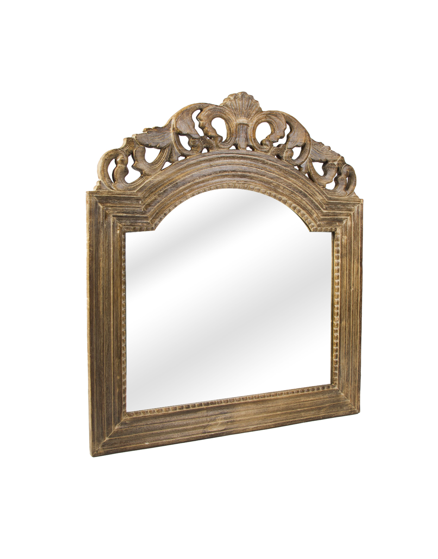 Espejo rectangular con cenefa