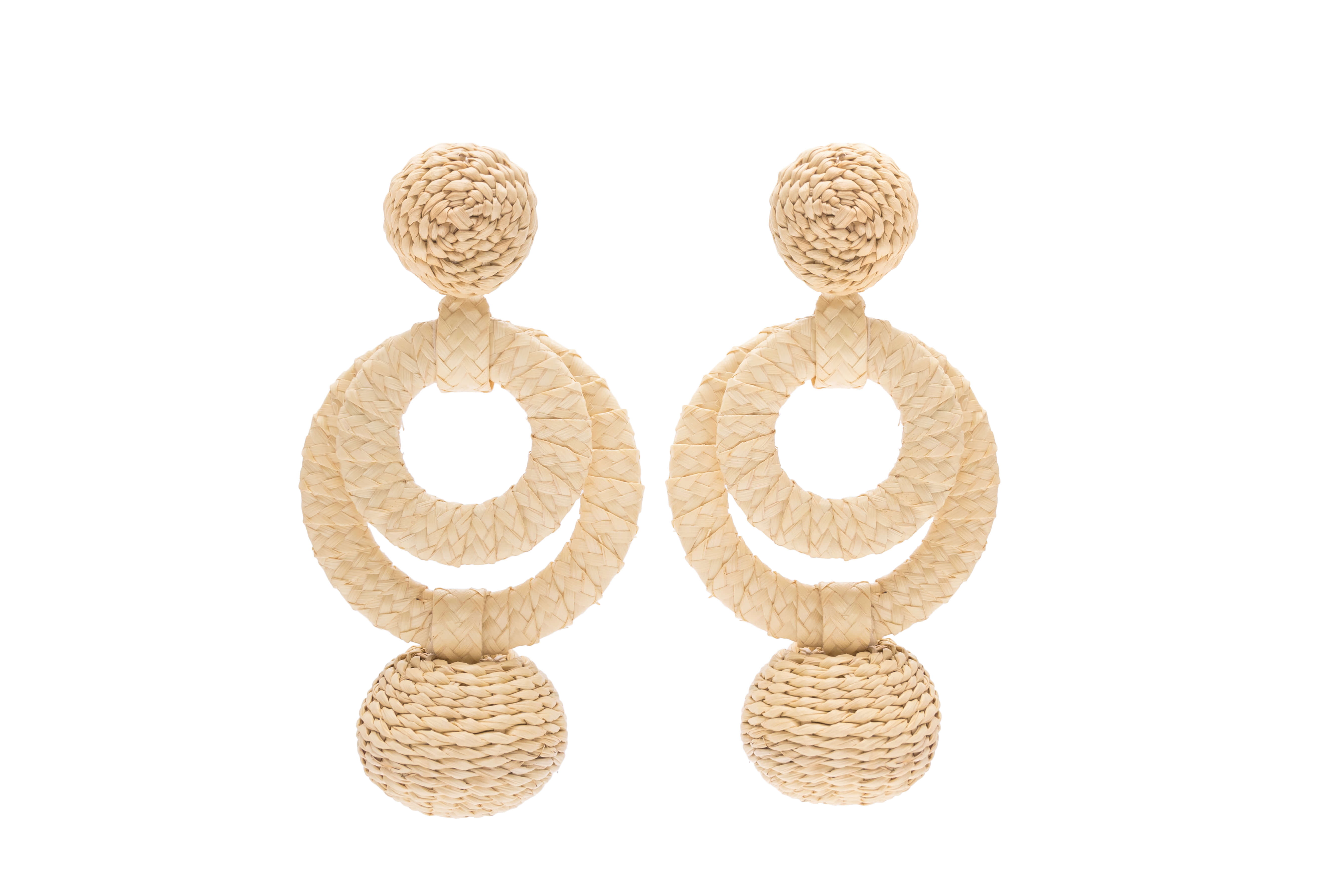 Carioca Earrings Natural