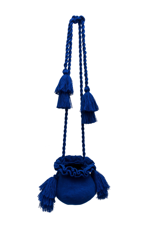 Mochila La guapa azul rey