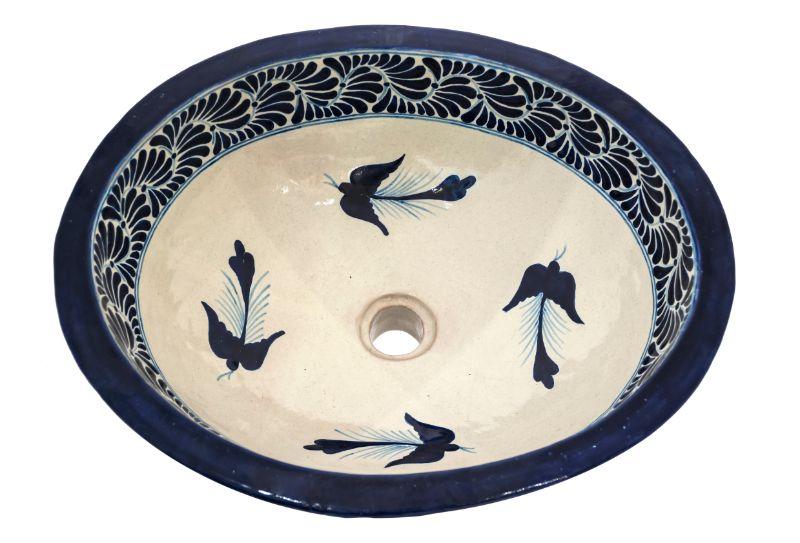Talavera Blue Washbasin
