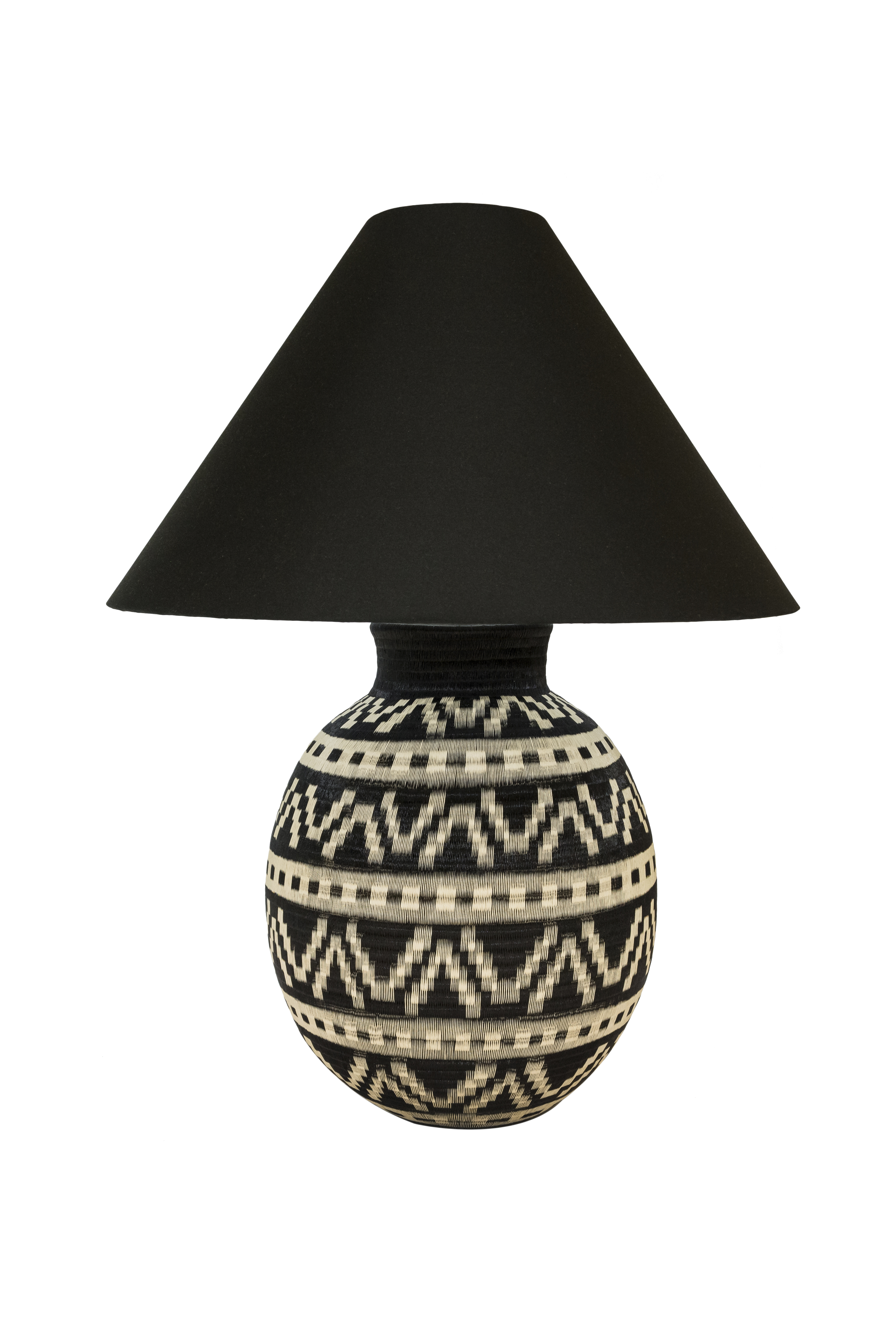 Lámpara de mesa werregue montañas