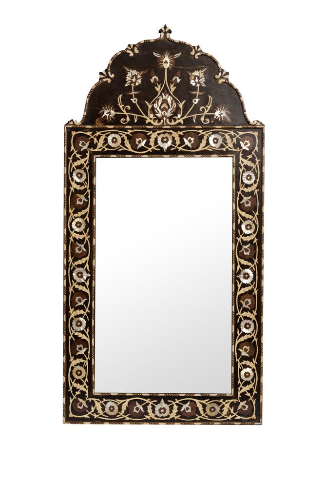 Espejo Marroqui tallado
