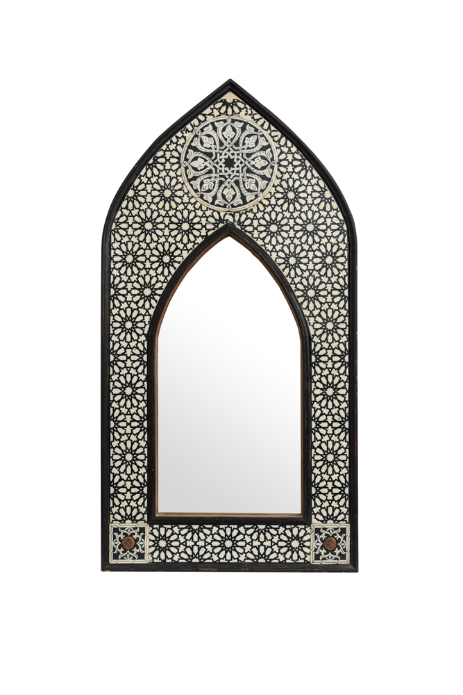 Moroccan Arch Point Mirror