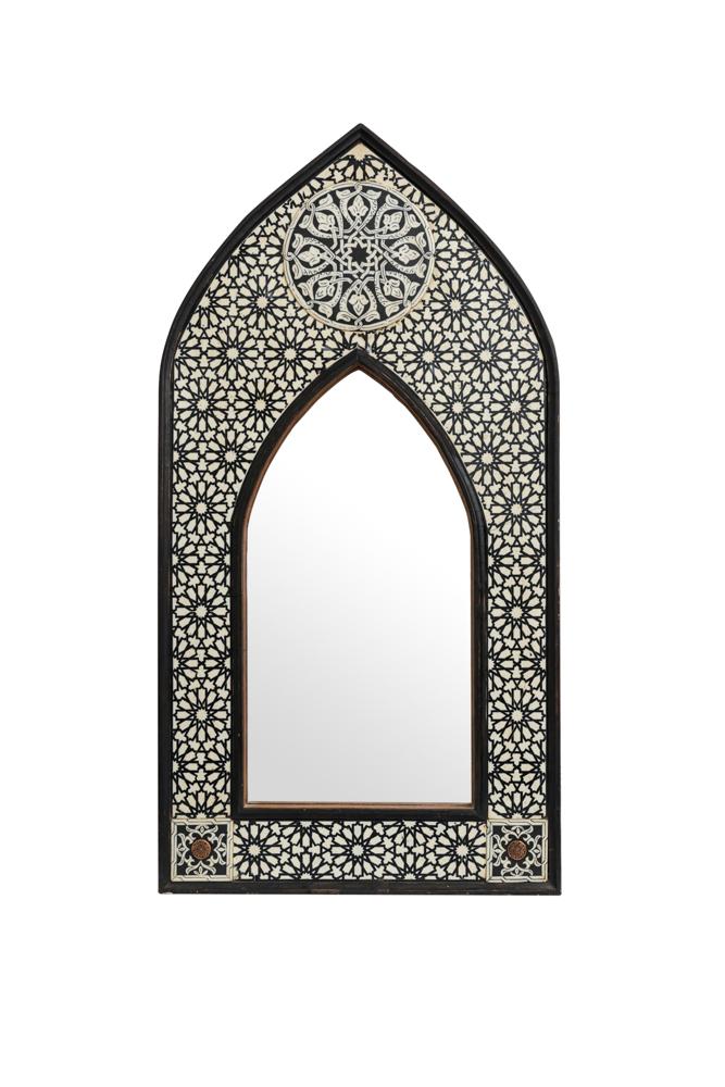 Espejo punta de arco tradicional Marroqui