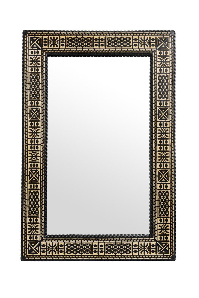 Espejo Marroqui tradicional rectangular