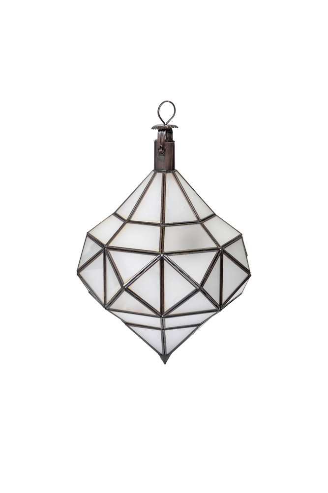 Lamp, Moroccan Diamond