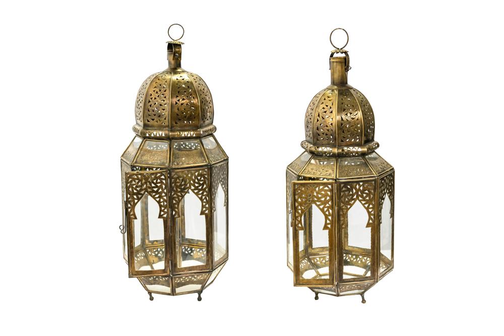 Lámpara de cristal Marroqui