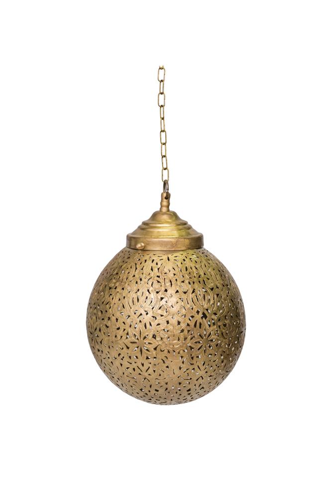 Traditional Moroccan balloon lamp,22 Cm