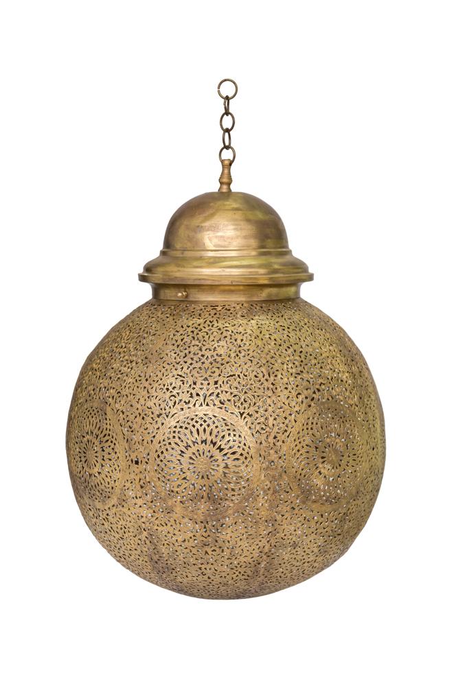 Lámpara de globo tradicional Marroquí,30 Cm