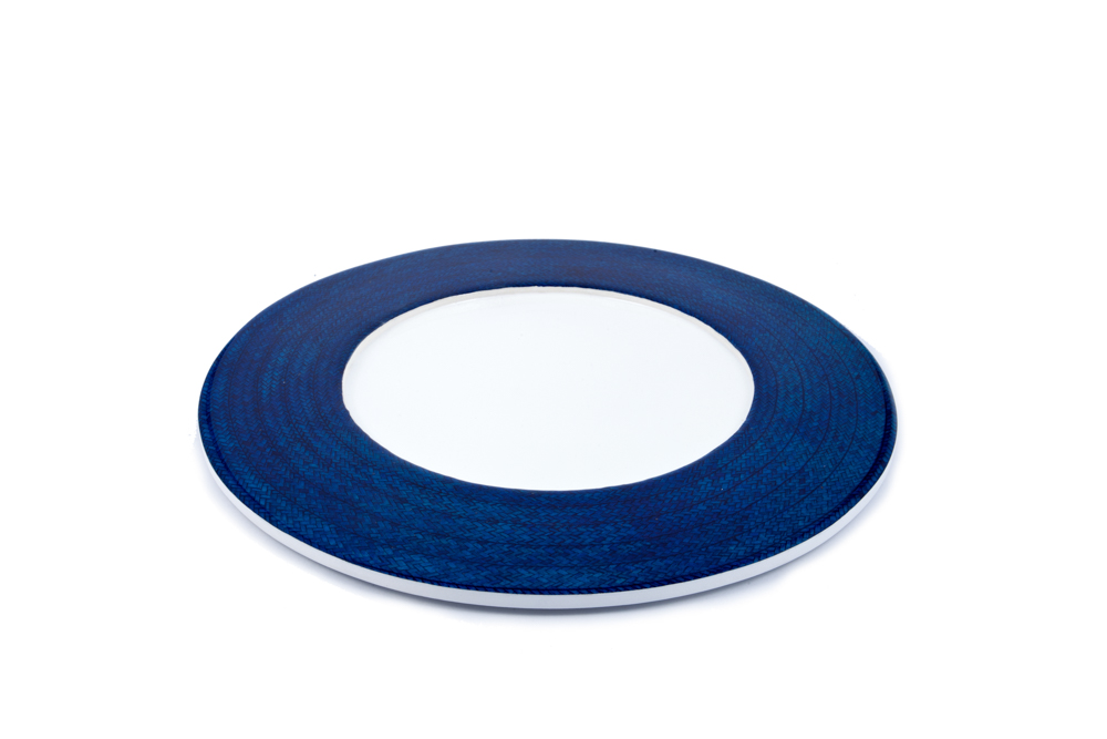 Caña Flecha Plate holder, blue
