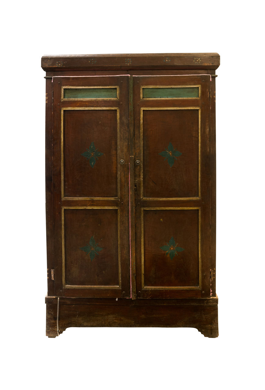 Indonesian carved cabinet