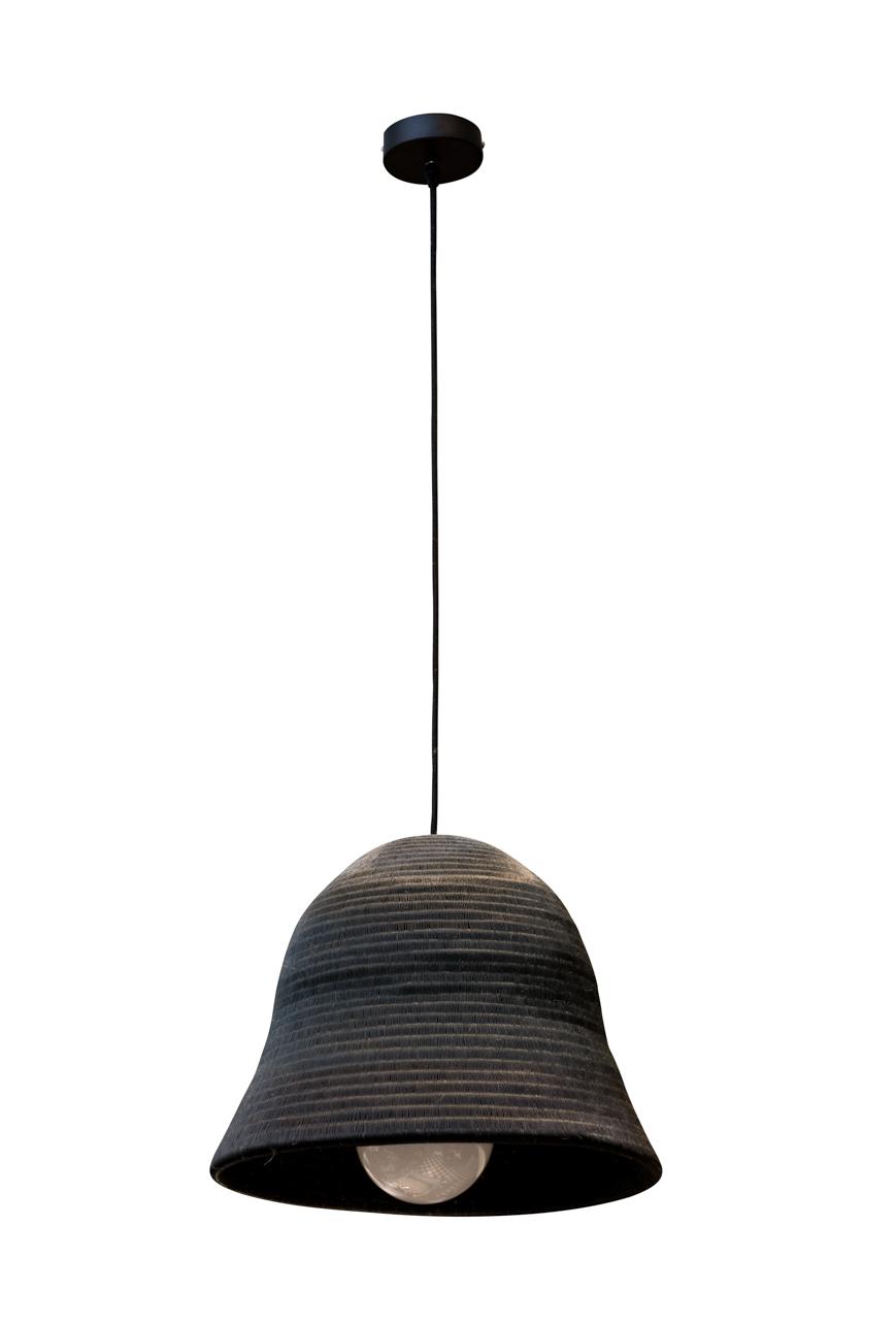 Lámpara de colgar werregue,Negro