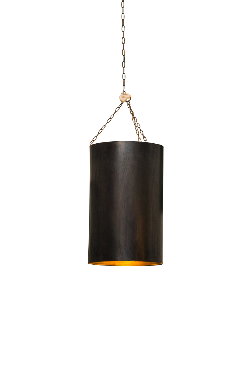 Moroccan cylindrical hanging lamp
