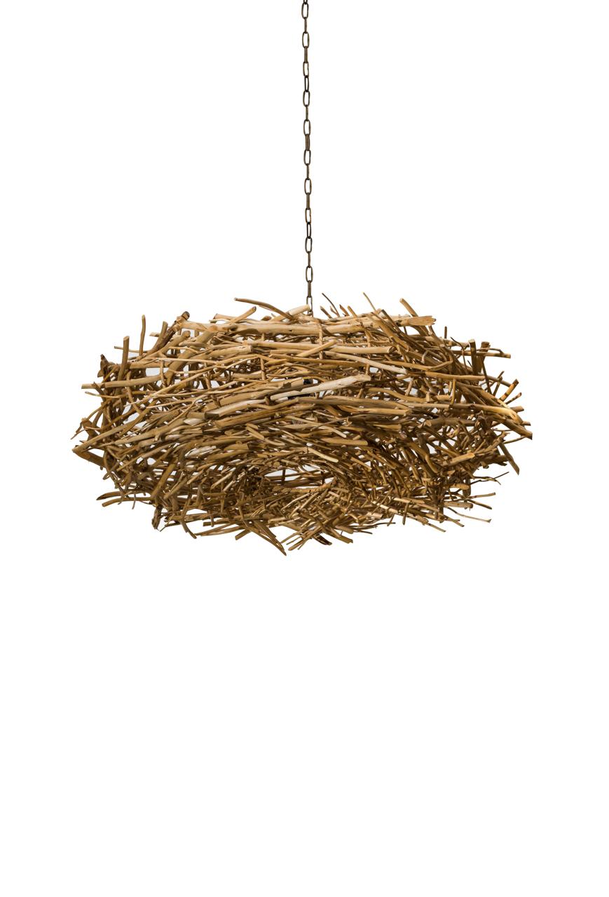 Lámpara de colgar nido