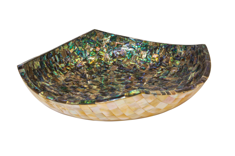 Bowl Abalone Cuadrado