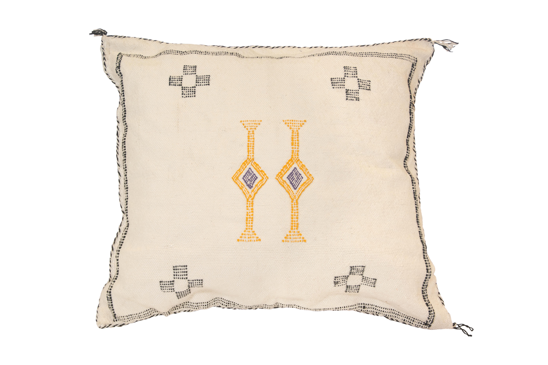 Cojín Sabra Marroquí  Beige