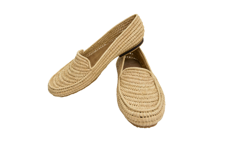Zapatos Marroqui Raffia Natural