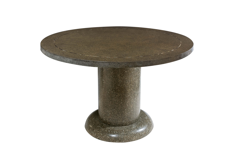 Mesa de comedor en piedra de terrazo
